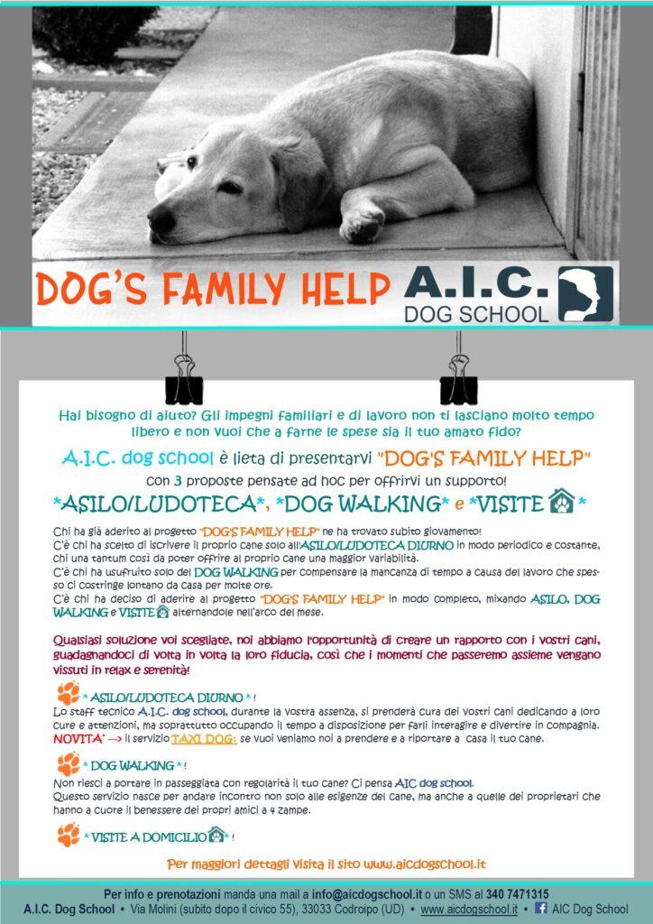 DOG'S FAMILY HELP